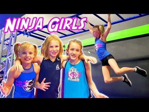 Ninja Girls! Payton Races Friends
