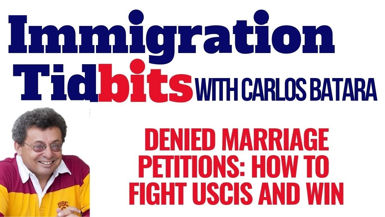 Immigration Marriage: I-130 Denied (Proof Of Bona Fide Relationship)