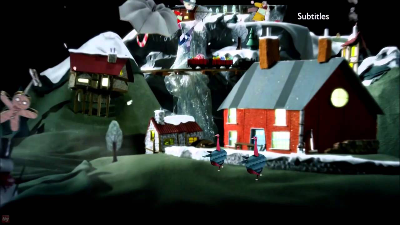 BBC Two Christmas Ident 3 2015 - YouTube
