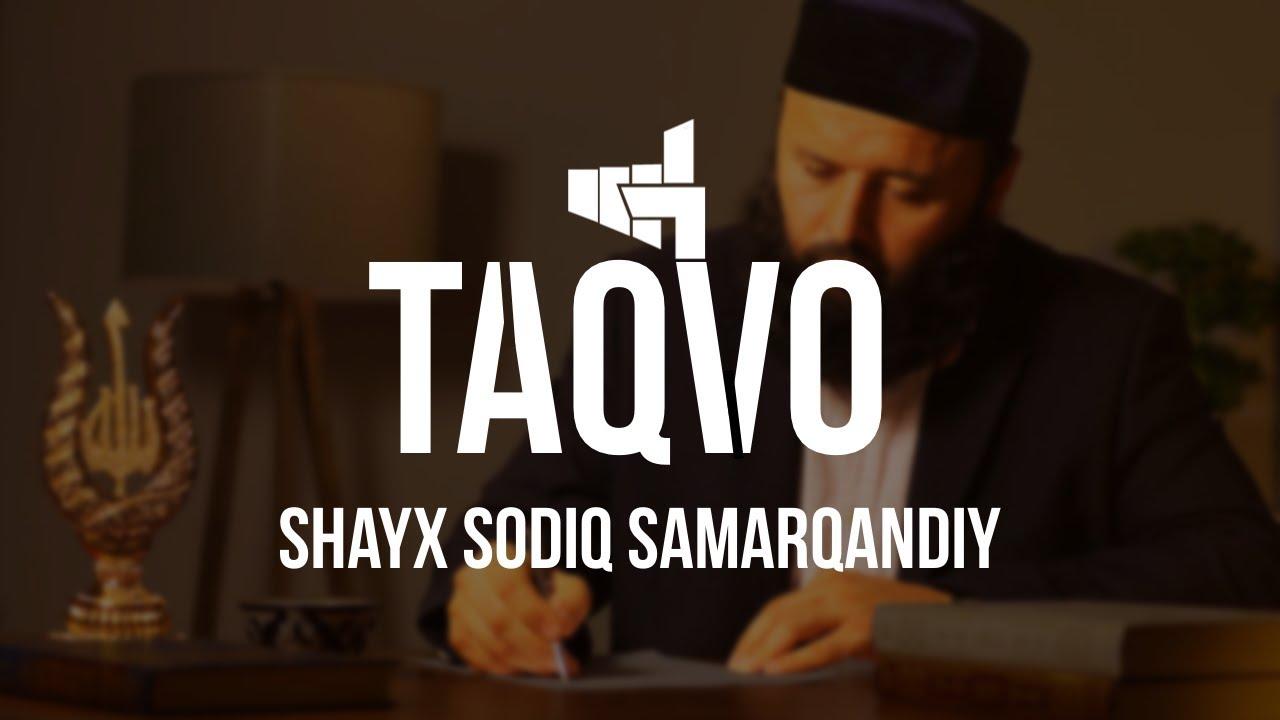 Download Taqvo Haqida | Shayx Sodiq Samarqandiy