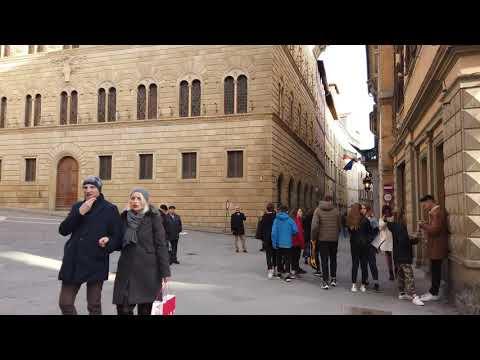 Siena, Italy【Walking Tour】4K