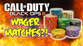 """Black Ops 3"" Wager Matches & Multiplayer COD Points System?! (Call of Duty BO3)"