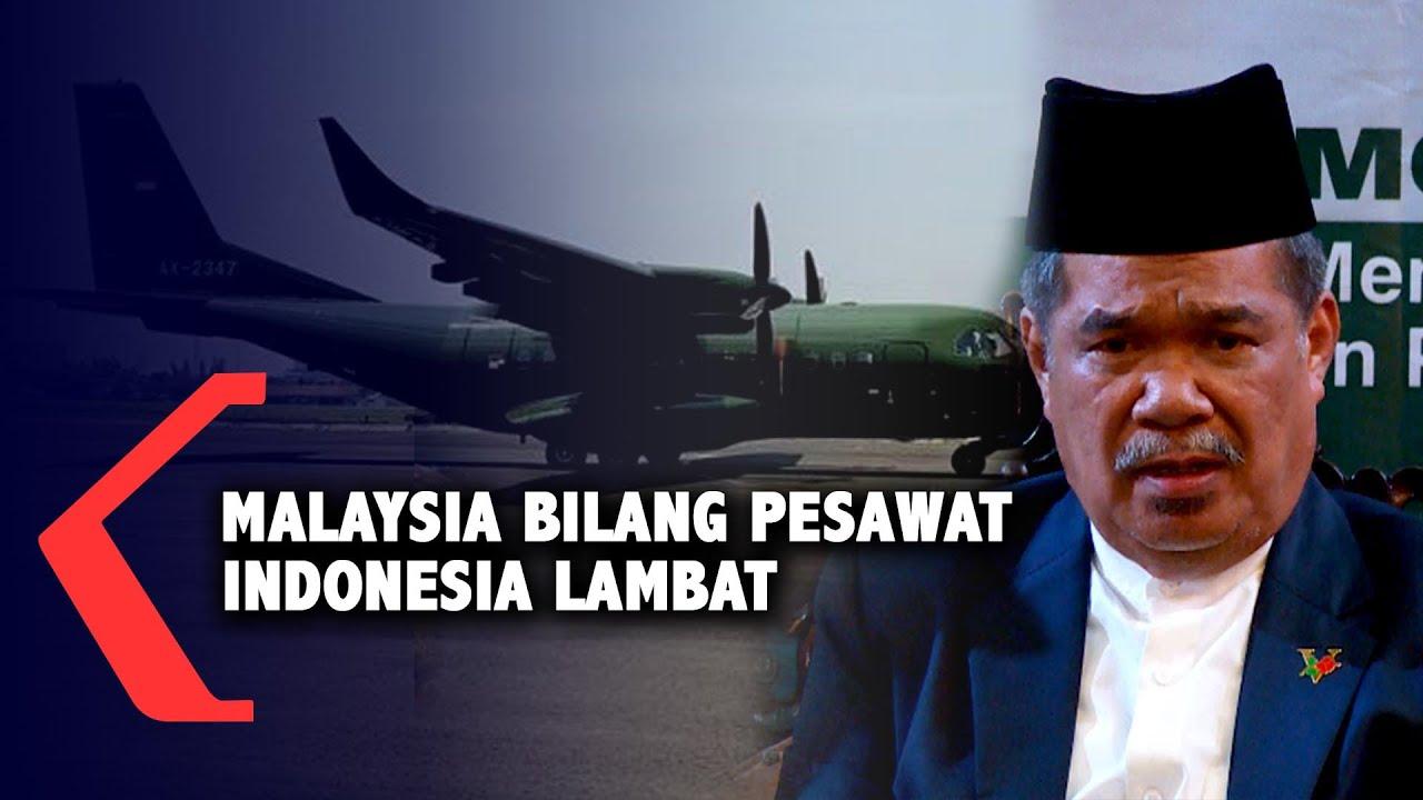 Malaysia Bilang Pesawat Indonesia Lambat - YouTube
