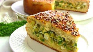 Пирог с Огурцами ОБЪЕДЕНИЕ!!! Очень вкусно и БЮДЖЕТНО!