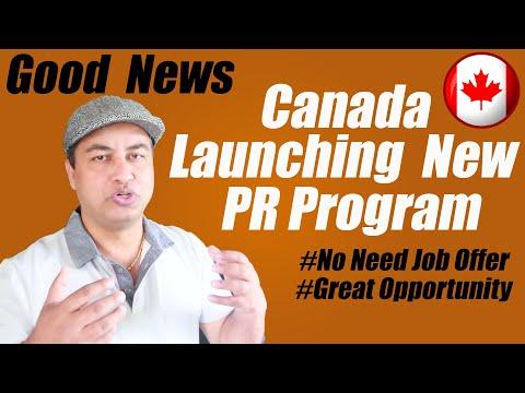 GOOD NEWS!! Canada Launching New PR Program Soon In 2020 | MNP