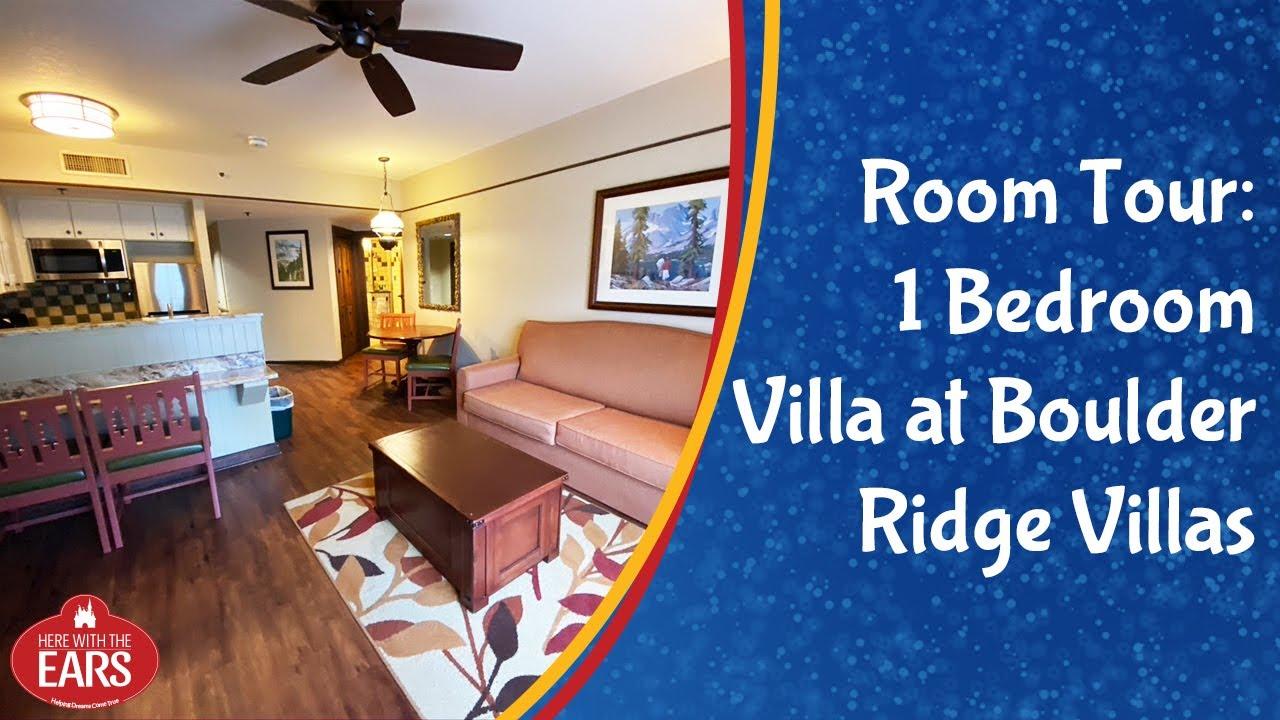 Boulder Ridge 1 Bedroom Villa Room Tour Youtube