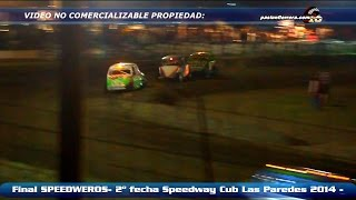 SPEEDWEROS - Series, repechaje y Final - 2º fecha Speedwy Sureño 2014 - Las Paredes