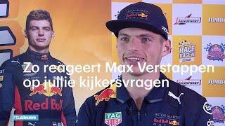 Zo reageert Max Verstappen op jullie kijkersvragen - RTL NIEUWS