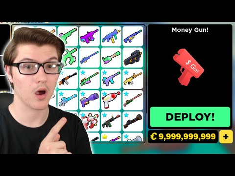 BUYING The *NEW* MONEY GUN For $2,250,000! | Roblox BIG Paintball