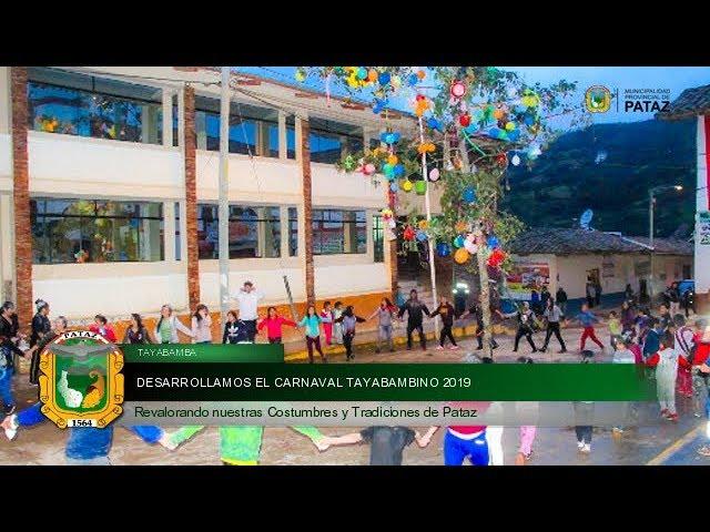 Carnaval Tayabambino 2019
