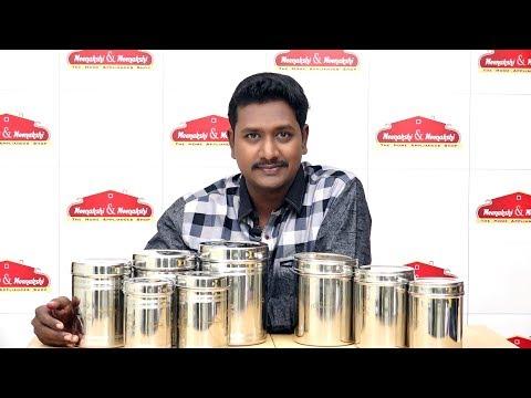 Meenakshi And Meenakshi  Stainless Steel Container