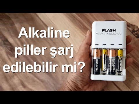 Alkaline piller şarj edilebilir mi?