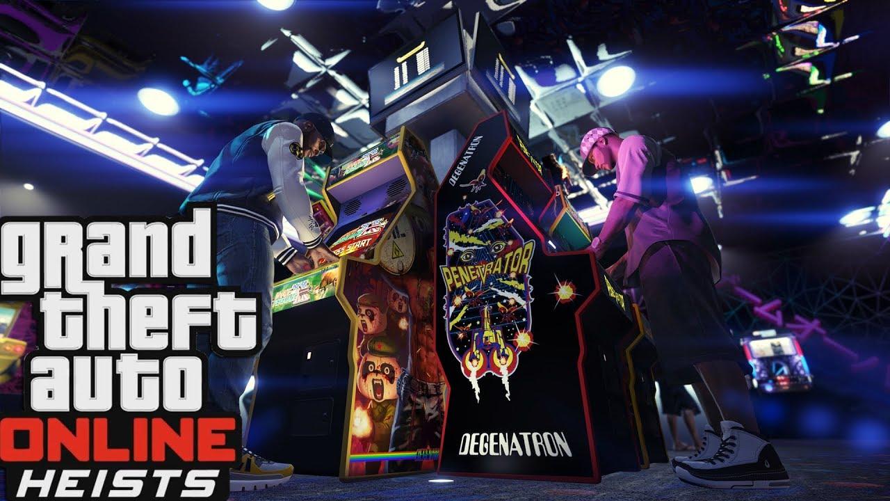 GTA 5 online ქართულად DLC_სი და ახალი ლესტერის მისსიები GTA 5 Online Heists DLC