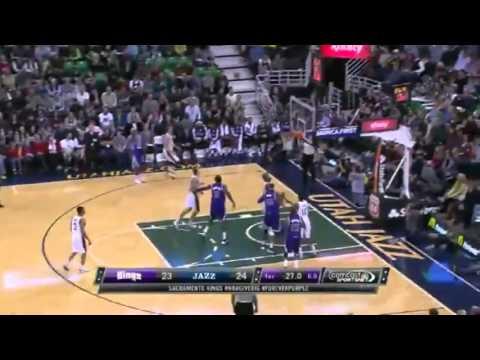 Sacramento Kings vs Utah Jazz   First Half Highlights   December 7  2013   NBA 2013 14 Season