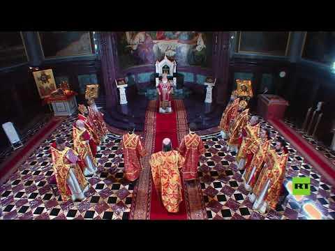 مسيحيو روسيا يحيون عيد الفصح