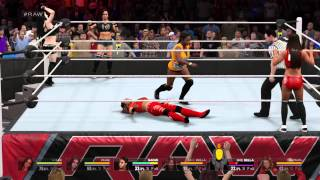 WWE2K15 Request 6 Divas Tag Team Match