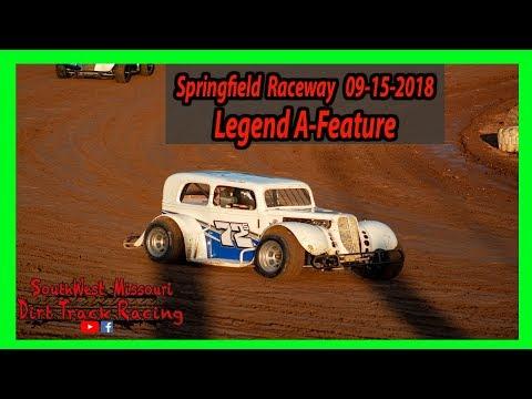 Legend A-Feature Springfield Raceway 9/15/2018  Comp Cams Super Lates Models