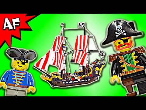 Lego Pirates BLACK SEAS BARRACUDA 6285 Speed Build - BricksPlanet