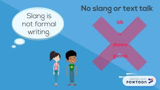 Formal Writing Tips - interactive