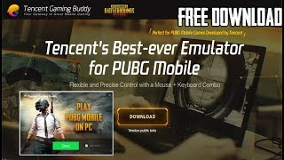 How to play pubg mobile on pc official english tencent emulator video