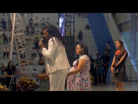 Testemunhos de Vida durante a II Conferencia Mulheres de Pentecostes que ocorreu na Canção Nova - SP