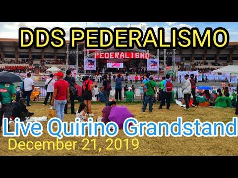 DDS RALLY ON FEDERALISM   QUIRINO GRANSTAND   DEC. 21, 2019