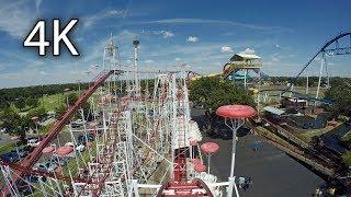 Mouse Trap front seat on-ride 4K POV Wonderland Amusement Park
