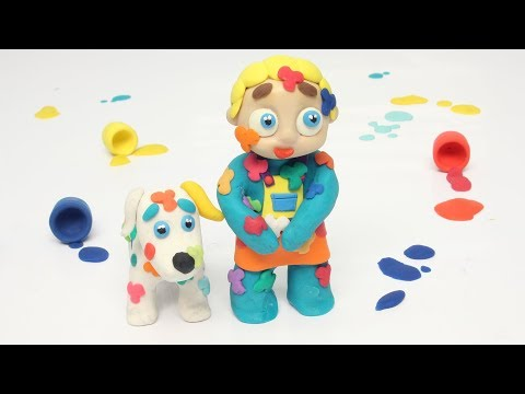 Diana paints the puppy colors 💗 Cartoons For Kids from YouTube · Duration:  10 minutes 45 seconds