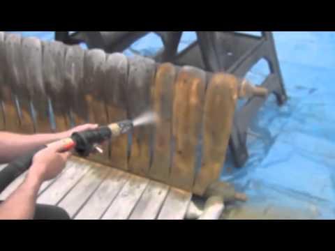 Safe Blasting Wood Restoration
