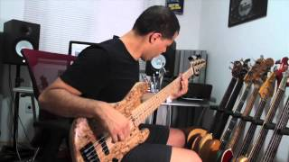 N.Zaganin Custom Jazz Bass 5 cordas (Review por Fabio Lessa)