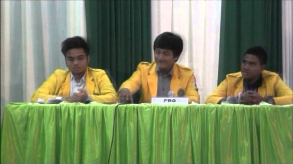 Grand Final Debat Hukum Mahasiswa Part1 Youtube