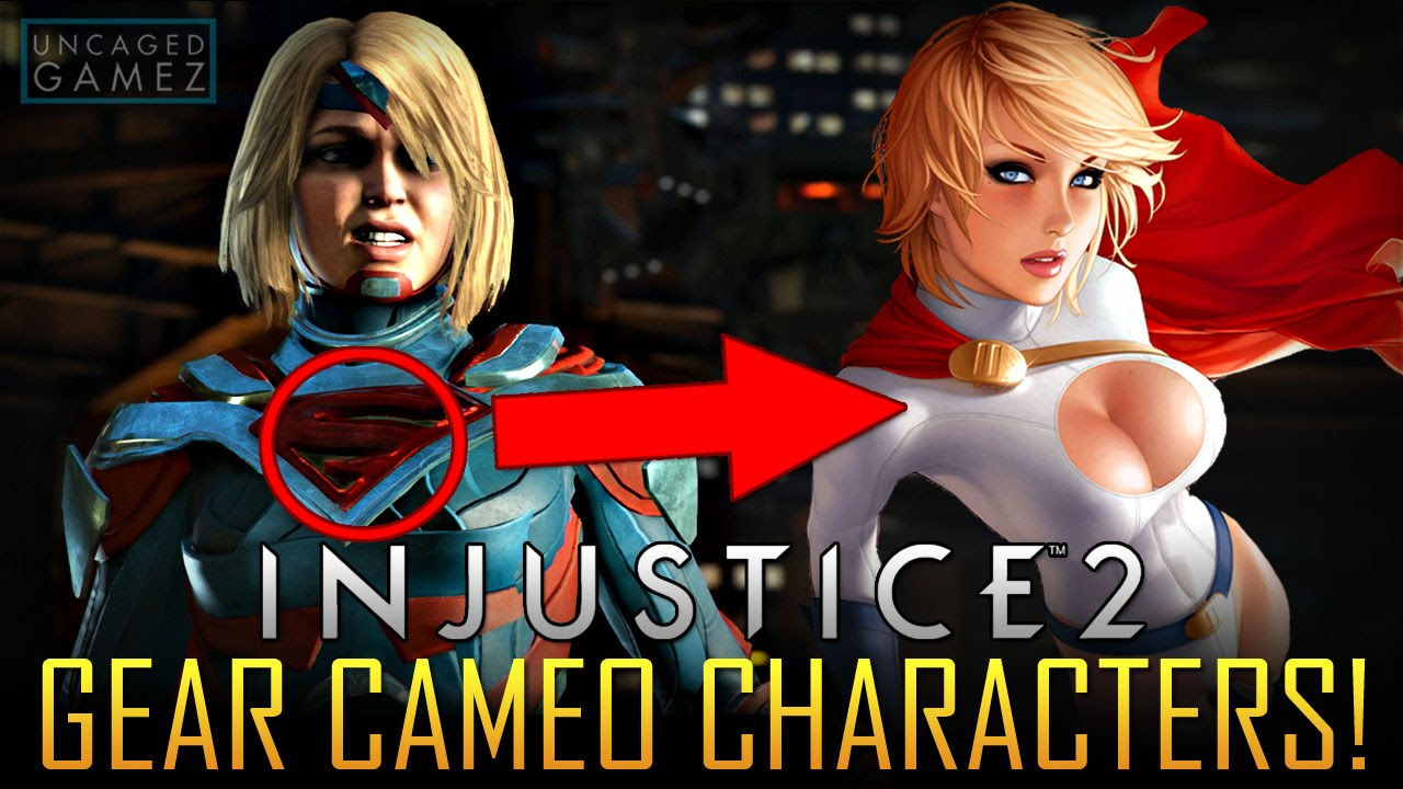 Injustice 2 Gear Changing Characters To Other Youtube Ps4 Region 3