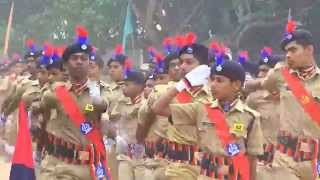 Marching Ahead-The Feature Indian Leaders   Parade of SPC Cadets