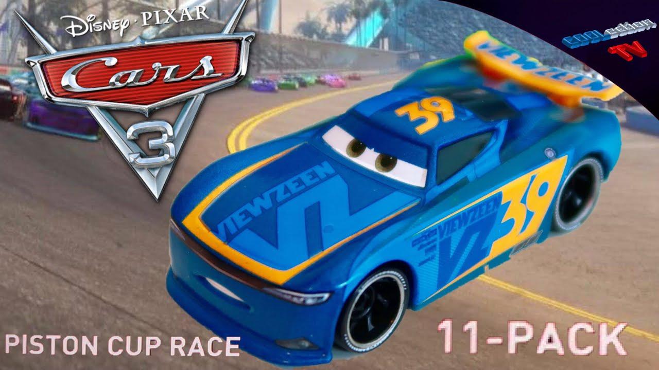 Next-Gen Piston Cup Racers 2019 release Michael Rotor Disney Pixar Cars