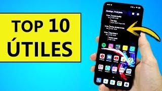 TOP 10 APPS ÚTILES y PERSONALIZACIÓN para Android - Mejores Aplicaciones gratis 2020