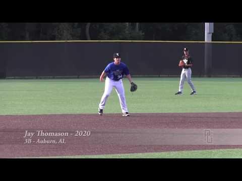 Jay Thomason - 3B - Auburn, AL - 2020