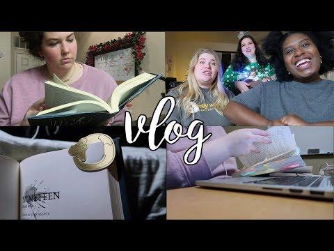 lazy homework sunday | vlogmas #2