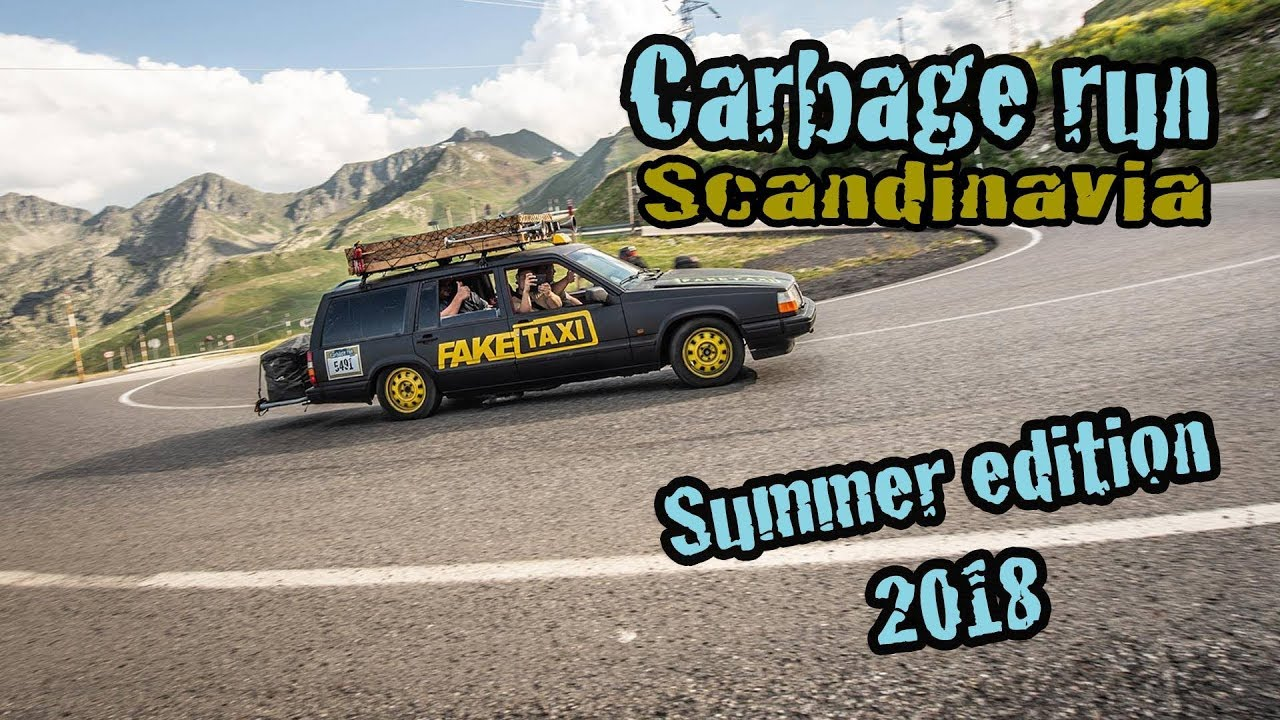 Carbage Run Scandinavia Summer Edition 2018 Official