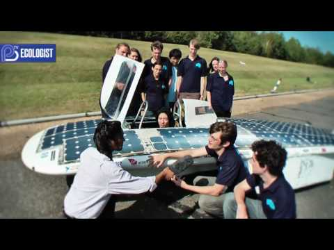 Under the hood of the solar electric car