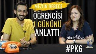 #PK6 Mezun Derece Öğrencisinin 1 Günü Nasıl Geçer? |Ilk 6000| #sırasende