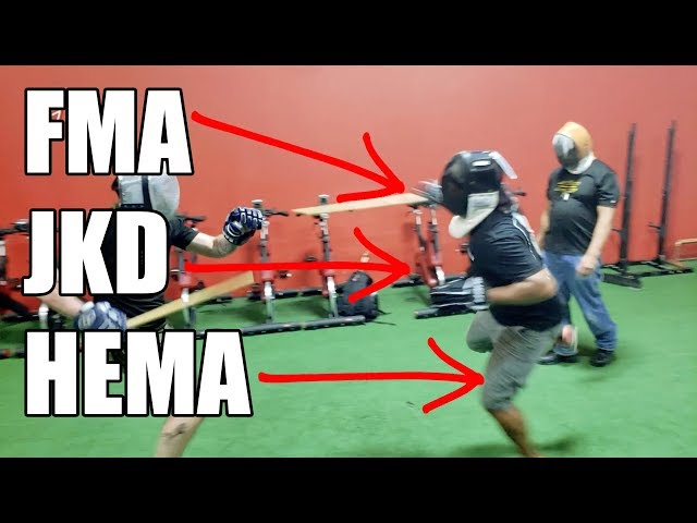 HEMA, FMA & JKD: Combined Concepts for Face Stabbing Fun!