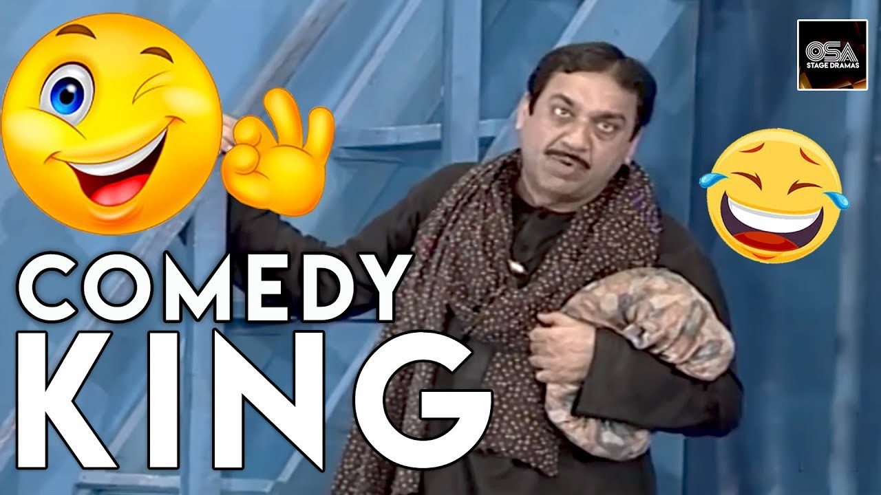 Best Comedy 2020.Sohail Ahmed Comedy King Non Stop Comedy 2020 New Stage Drama Best Comedy Clip