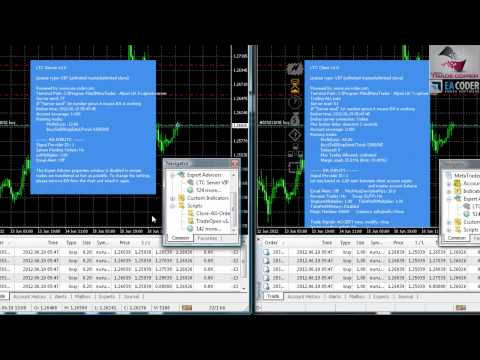 Multiple trades are being copied using Local Trade Copier for Metatrader 4 by EA Coder