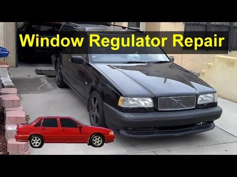 How to repair the window roller or regulator in a Volvo S70, V70, 850, V70 XC, V70R, etc. – VOTD