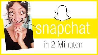 ♥ Snapchat erklärt in 2 Minuten - Wie funktioniert Snapchat?