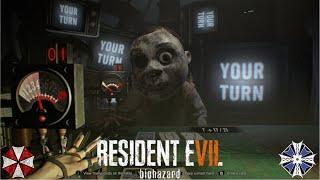 珍客 ビッグヘッド撃破(Killing Mr.Big Head)-バイオハザード 7(resident evil 7)DLC[21 Survaival+] thumbnail