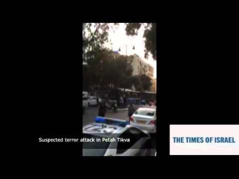 Terror attack in Petah Tikva