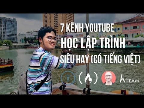 tài liệu học hack từ cơ bản tới nâng cao - 7 Kênh Youtube Học Lập Trình miễn phí siêu hay ho (Có tiếng Việt)