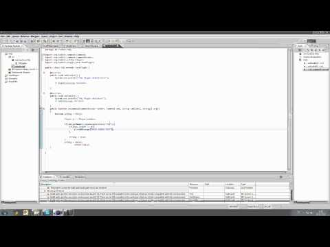 Bukkit Plugin Programmieren #1 Ein einfaches Text Plugin