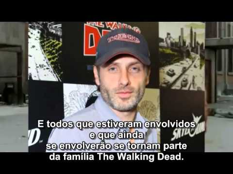 The Walking Dead Brasil Entrevista - Andrew Lincoln (Rick Grimes)